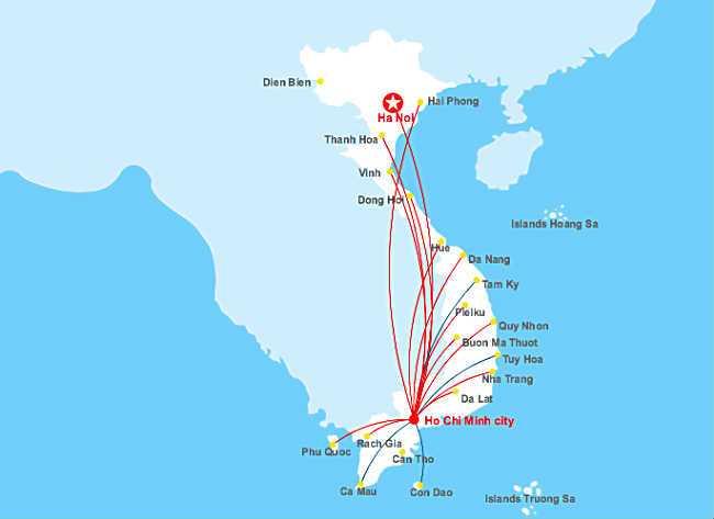 mang duong bay vietnamairlines