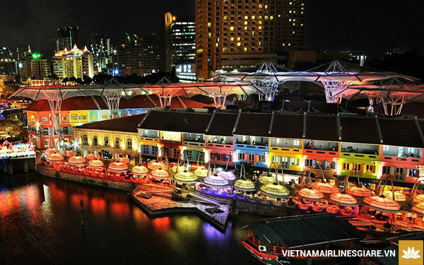 Vé máy bay Vietnam Airlines đi Singapore giá rẻ