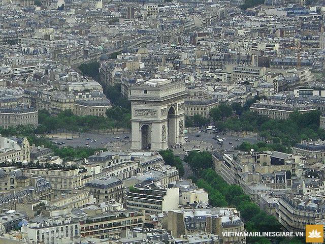 Vé máy bay đi Paris, Pháp giá rẻ