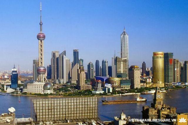 Vé máy bay giá rẻ nhất đi Thượng Hải