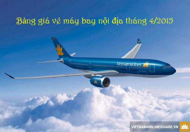 gia ve vietnam airlines