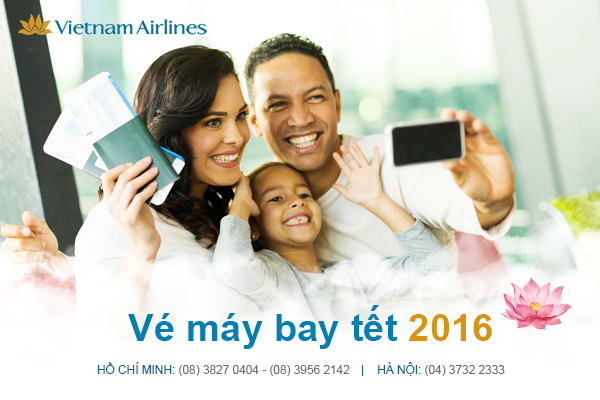 ve may bay vietnam airlines tet 2016