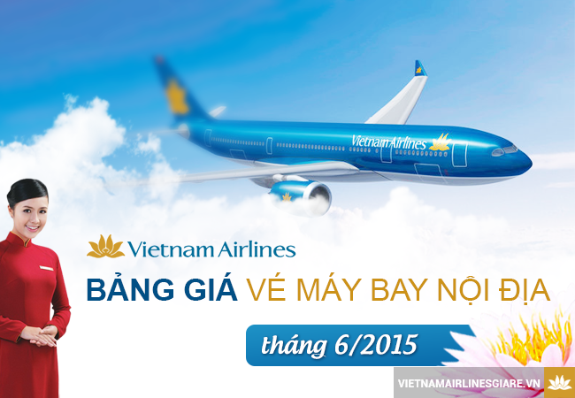 gia ve may bay vietnam airlines