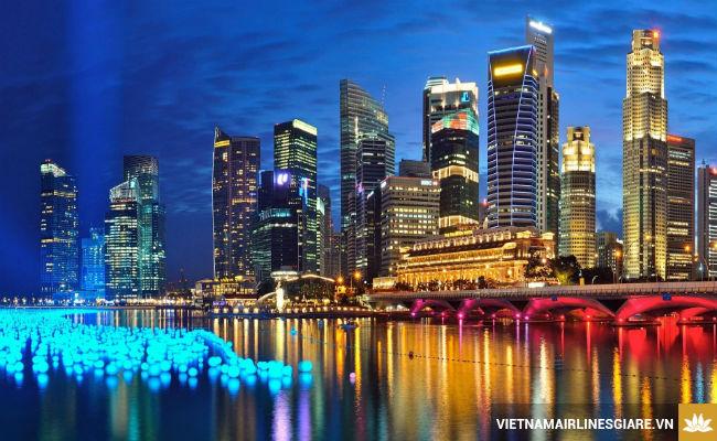 ve may bay di singapore