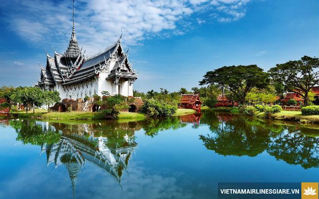 ve may bay di thai lan