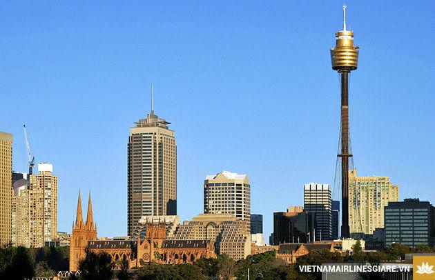 Đặt vé máy bay đi Sydney hãng Vietnam Airlines