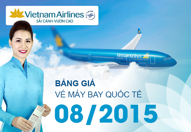 bang gia vietnam airlines
