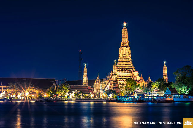 ve may bay di bangkok gia re