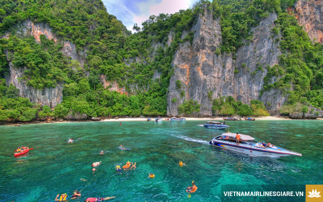 ve may bay di thai lan vietnam airlines