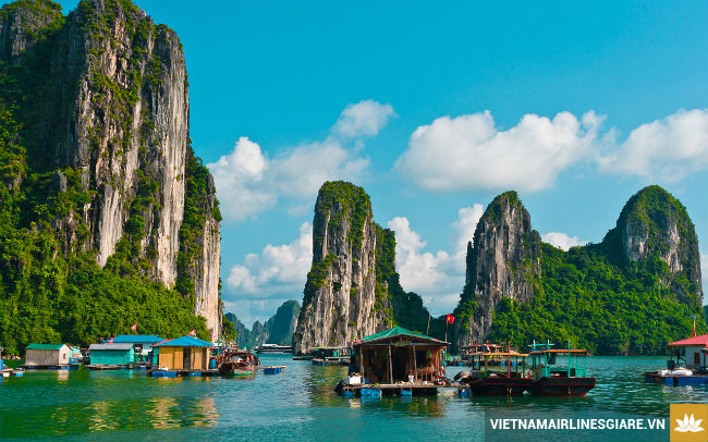 ve may bay di ha noi vietnam airlines