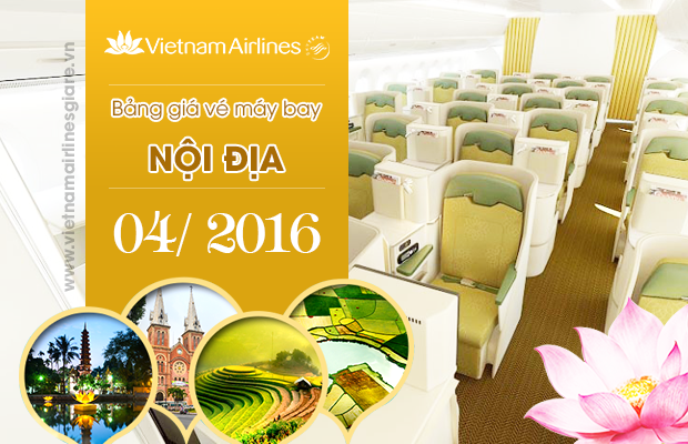 gia ve may bay vietnam airline noi dia