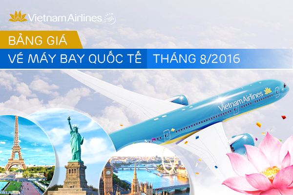 ve may bay quoc te vietnam airlines