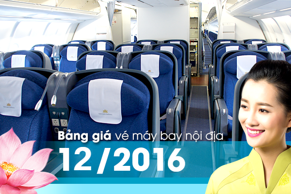 ve may bay vietnam airlines noi dia
