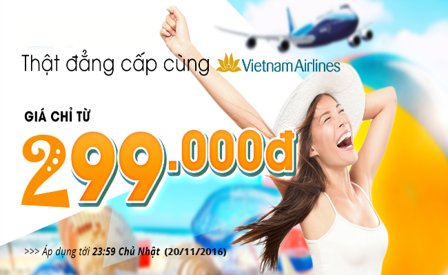 ve may bay vietnam airlines khuyen mai