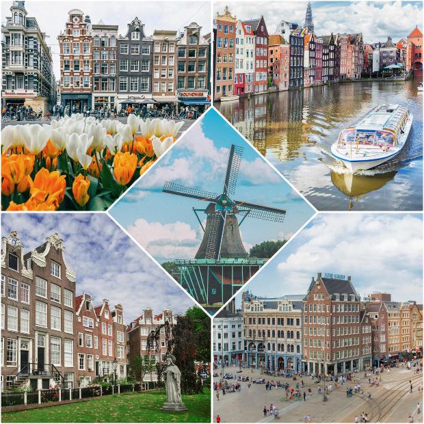 khám phá Amsterdam