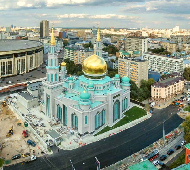 Moscow Mosque Cathedral