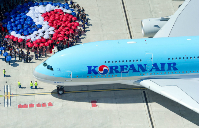 mua ve may bay korean air