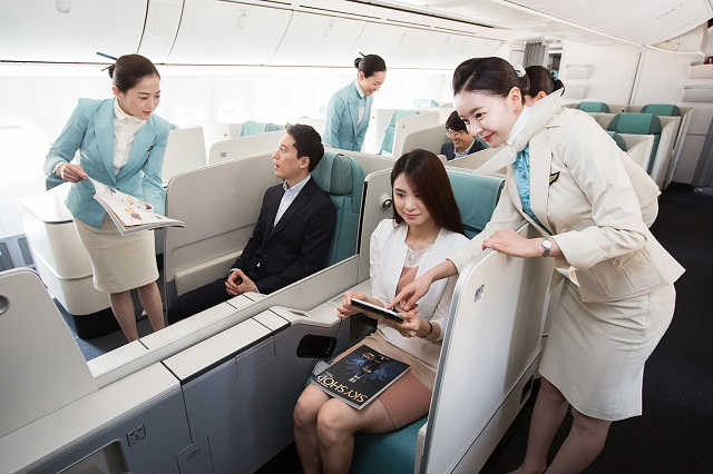 dai ly ve may bay korean air