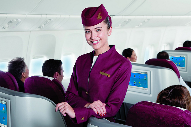 san ve may bay qatar airways