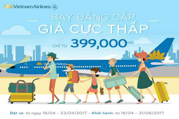 ve may bay Vietnam Airlines khuyen mai 2