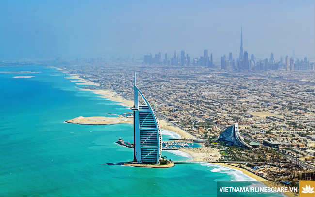 ve may bay di dubai