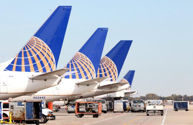 Vé máy bay hãng United Airlines
