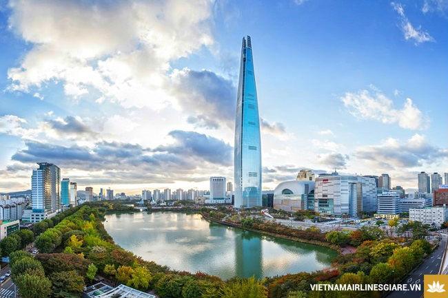 Vé máy bay giá rẻ đi Seoul của Vietnam Airlines