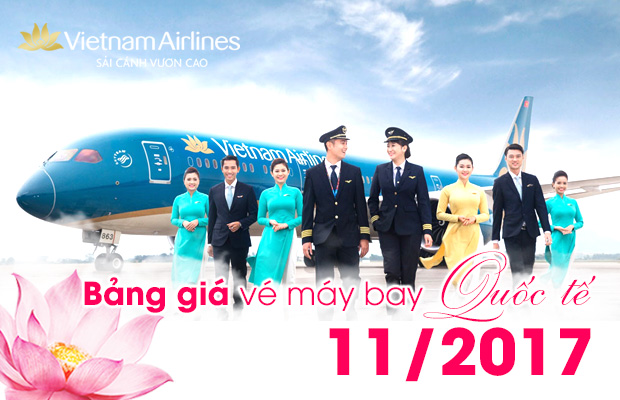 ve may bay vietnam airlines gia re