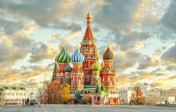 mua vé máy bay đi Nga