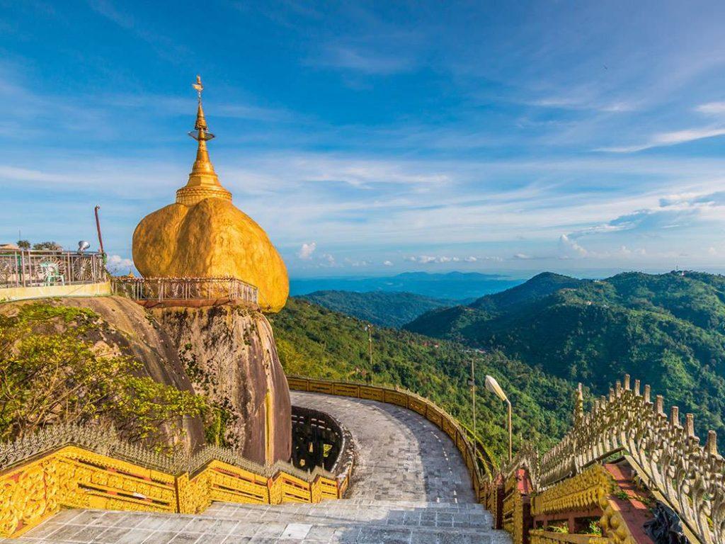 Chùa Đá Vàng Myanmar