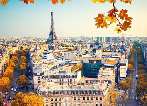 mua vé máy bay đi Pháp