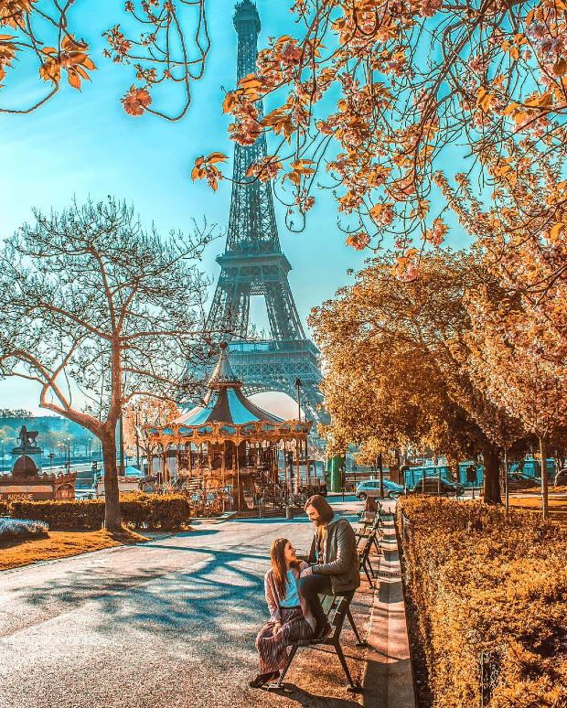 mùa thu nước Pháp
