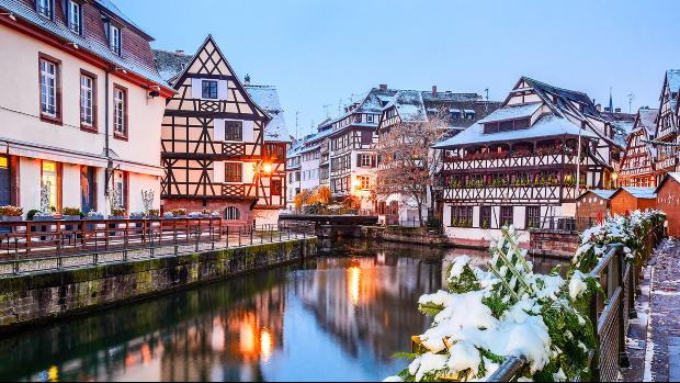 thành phố Strasbourg nước Pháp