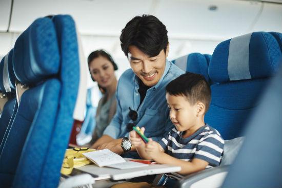 Chỗ ngồi cho trẻ em đi cùng Vietnam Airlines