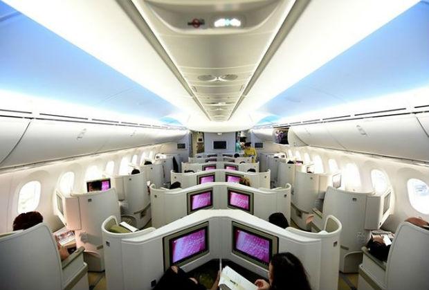 Giá vé hạng thương gia Vietnam Airlines