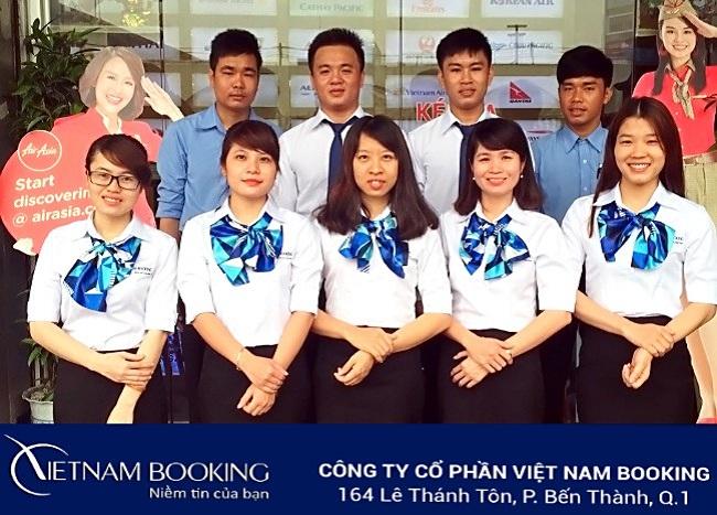 Booker của phòng vé Vietnamairlinesgiare.vn tại Quận 1, TP.HCM