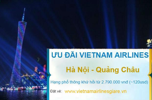 Hot! Khuyến mãi Hà Nội đi Quảng Châu khứ hồi từ 120 USD