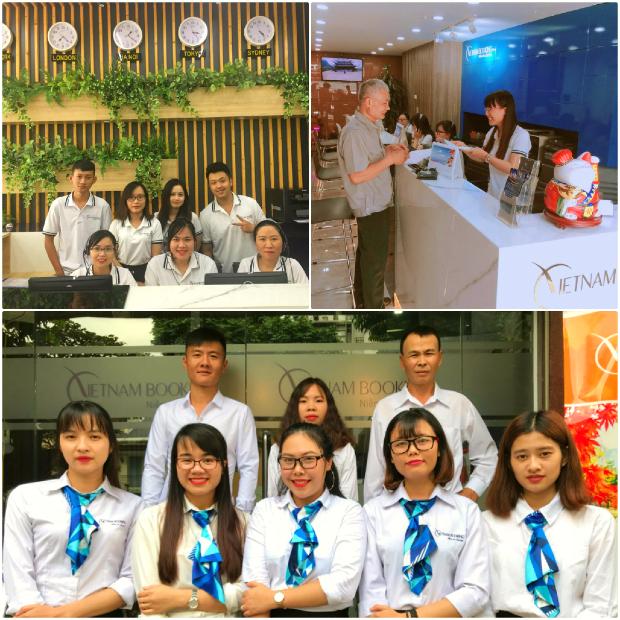 đại lý vé Vietnam Booking