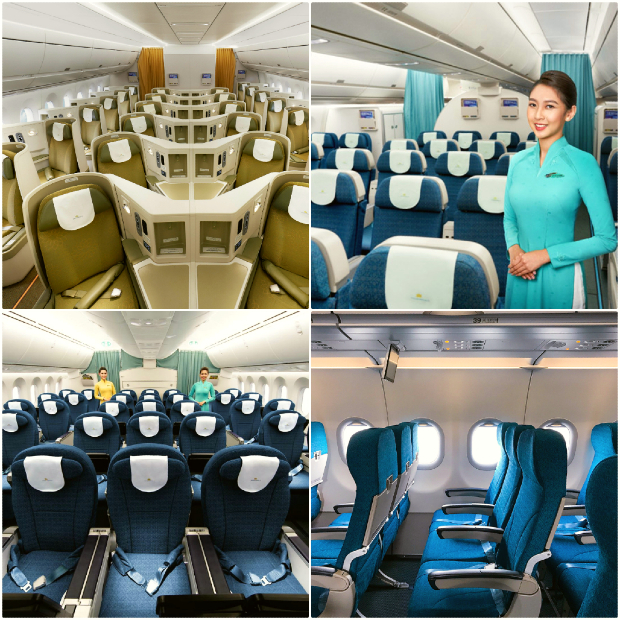 hạng ghế của Vietnam Airlines
