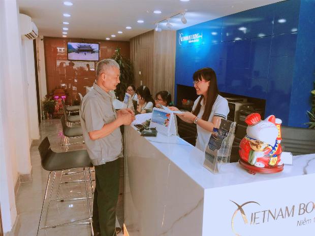 Văn phòng tư vấn của Vietnam Booking