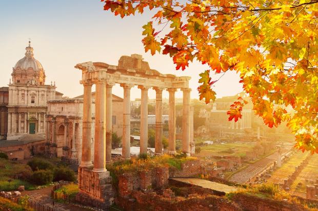 Rome mùa thu