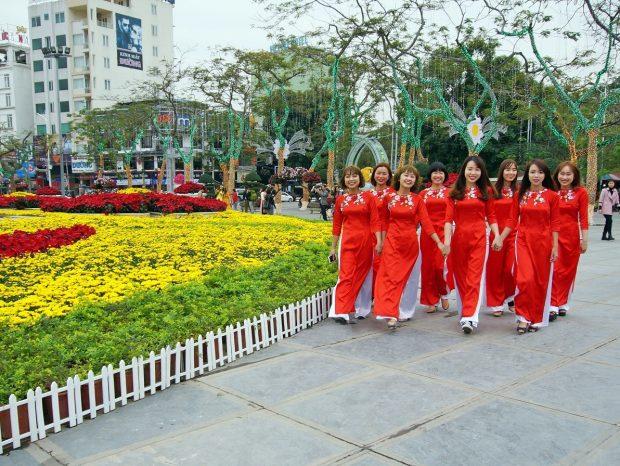Sắc Xuân tràn ngập khắp thành phố Hải Phòng rực rỡ