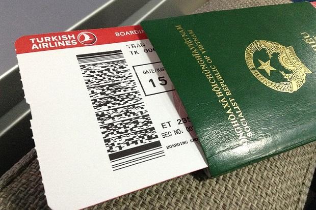 giấy tờ tùy thân đi máy bay