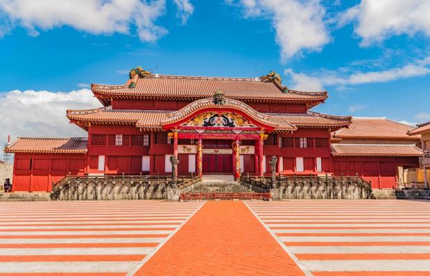 Lâu đài Shuri Okinawa