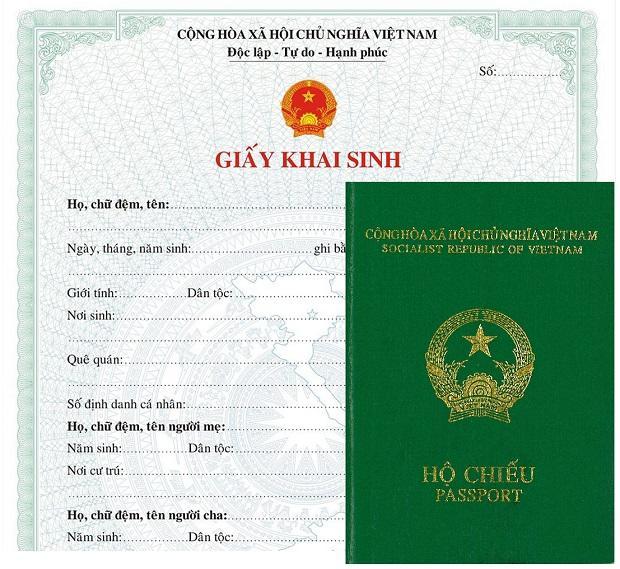 giấy tờ cho trẻ em khi đi máy bay Vietnam Airlines