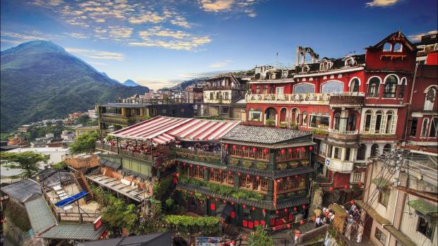 làng cổ Jiufen Đài Loan