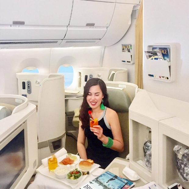 hạng thương gia Vietnam Airlines