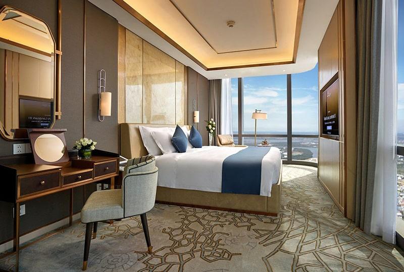 Phòng premier khách sạn vinpearl landmark 81