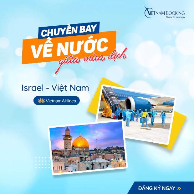 Chuyến bay từ Israel về Việt Nam