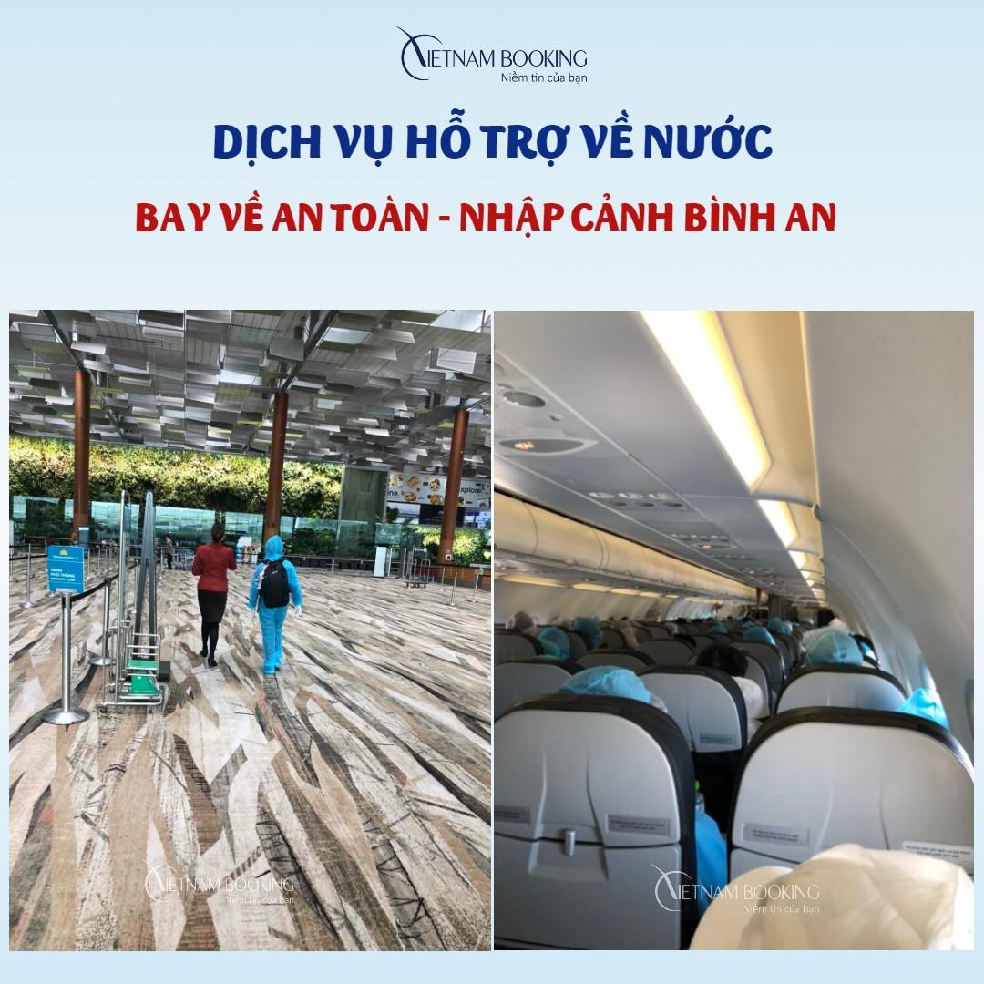 lịch bay từ Israel về Việt Nam